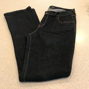 Old Navy 12 TALL mid rise jeans